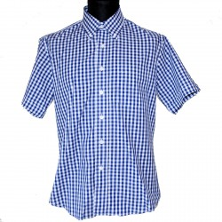 Short sleeve buttom down shirt STEADY