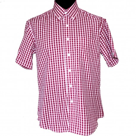 Camisa Manga Corta Button-Down GOVER