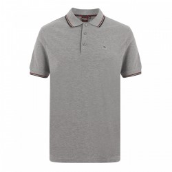 Merc CARD Polo Shirt Short Sleeved MINERAL / MARL