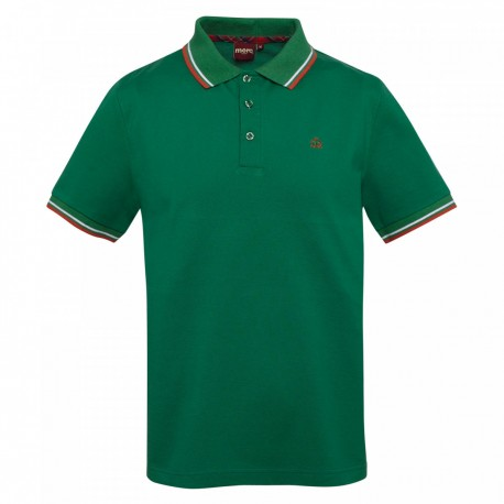 Merc CARD Polo Shirt Short Sleeved BRIGHT GREEN