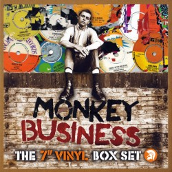 "V/A - MONKEY BUSINESS : The 7"" Vinyl Box Set -10 x 7 """