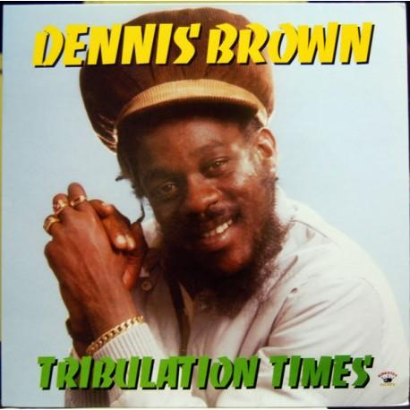 DENNIS BROWN - Tribulation Times - LP