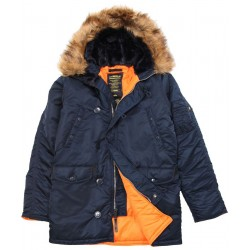 Parka Alpha Industries N3B - AZUL