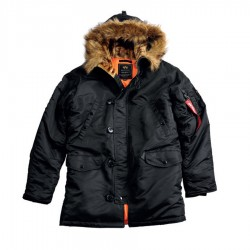 Parka Alpha Industries N3B VF 59 - Negro