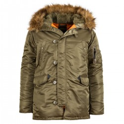 Parka Alpha Industries PPS N3B -Dark Green