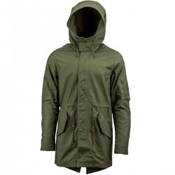 Parka Alpha Industries Light Weight Fishtale - Verde Oliva