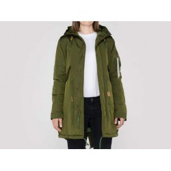 Parka Alpha Industries Chica Fishtale CW TT  Wmn - Dark Green