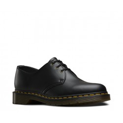 Dr. Martens 3 Eyelet Shoes VEGAN 1461 Smooth - BLACK