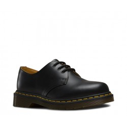 Dr. Martens 3 Eyelet Shoes 1461 59 Smooth - BLACK