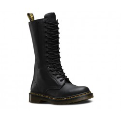 Boot Dr. Martens 14 Eyelet 1B99 VIRGINIA - BLACK