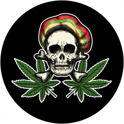 Patch REGGAE SKULL