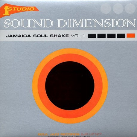 SOUND DIMENSION -  Jamaica Soul Shake Vol 1 - 2LP