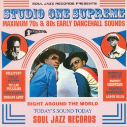 V/A - STUDIO ONE SUPREME : Maximum 70s & 80s Early dancehall Sounds - 2xLP