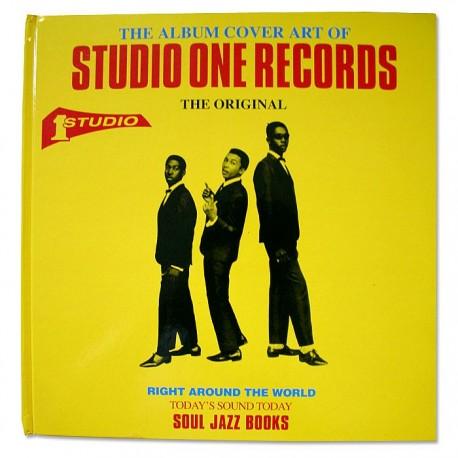 THE ALBUM COVER ART OF STUDIO ONE RECORDS - Libro