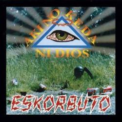 ESKORBUTO - Aki No Keda Ni Dios - LP + Magazine 20 Pages  + 2 Cards + Poster