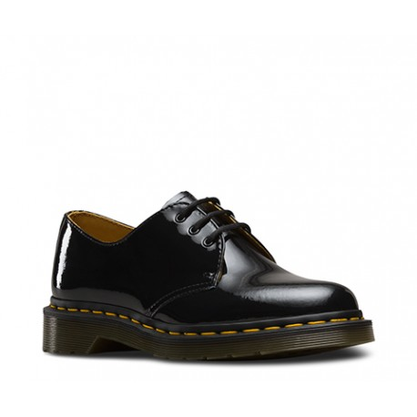 Zapato Dr. Martens 1461 3-Eye Charol - NEGROS