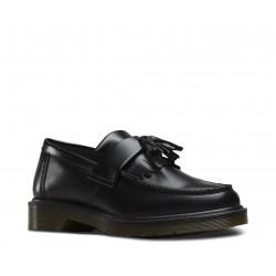 Dr. Martens 14573001 Adrian Tassle Loafer Polished Smooth - BLACK