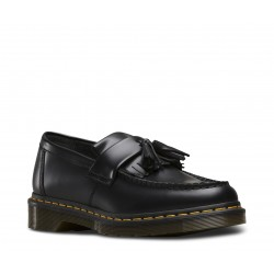 Dr. Martens 22209001 Adrian Tassle Loafer Smooth - BLACK