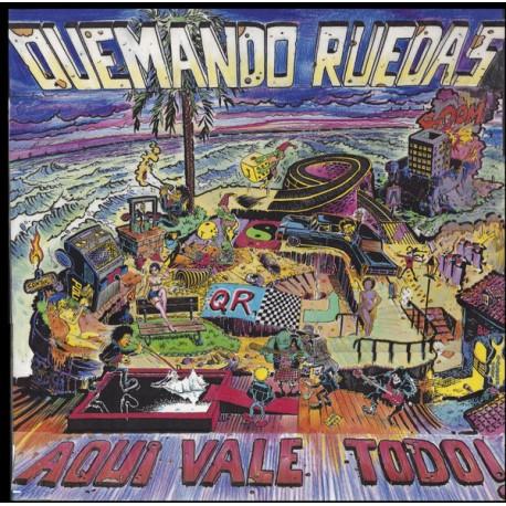 QUEMANDO RUEDAS - Aqui vale Todo ! - CD