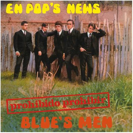 "BLUE'S MEN - Prohibido Prohibir - 10"""