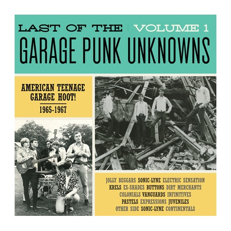 V/A - Last Of The Garage Punk Unknowns Volume 1 - LP