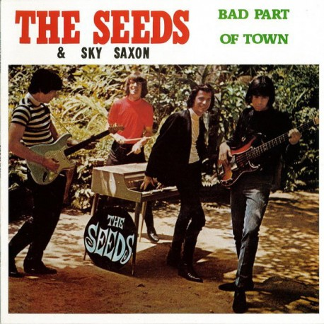 THE SEEDS & SKY SAXON - Bad Part Of Town - LP