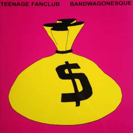 TEENAGE FANCLUB - Bandwaginesque - LP