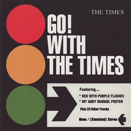 THE TIMES - Go! With The Times - LP+CD