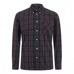 Camisa Manga Larga Button-Down NEDDY - AZUL