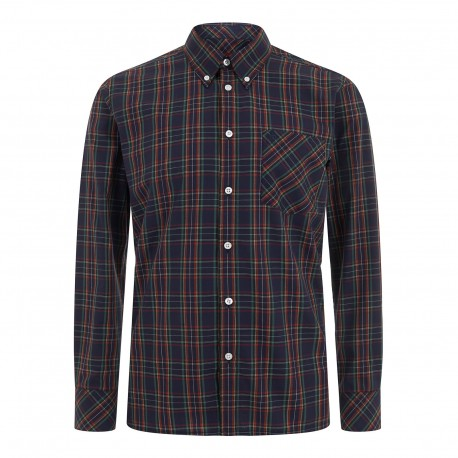 Long  sleeve buttom down shirt NEDDY - NAVY