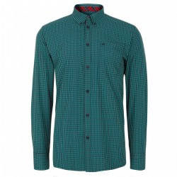 Camisa Manga Larga Button-Down JAPSTER - VERDE