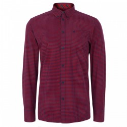 Long  sleeve buttom down shirt JAPSTER - RED/BLUE