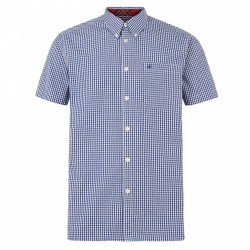 Camisa Manga Corta Button-Down TERRY - ROYAL BLUE