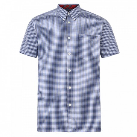 Camisa Manga Corta Button-Down TERRY - ROYAL BLUE
