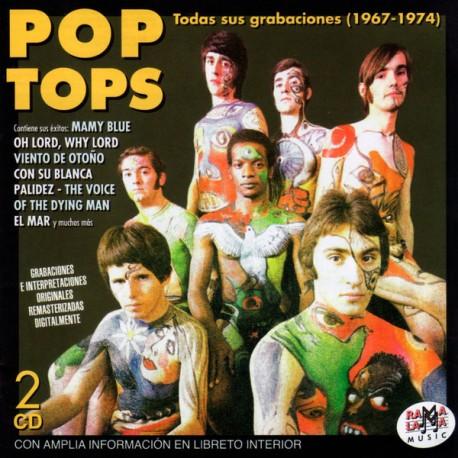 POP TOPS - Todas Sus Grabaciones (1967-1974) - 2CD