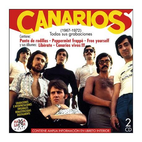 CANARIOS - Todas Sus Grabaciones ( 1967-1972 ) - CD