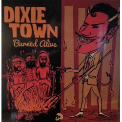 DIXIE TOWN - Burned Olive - LP