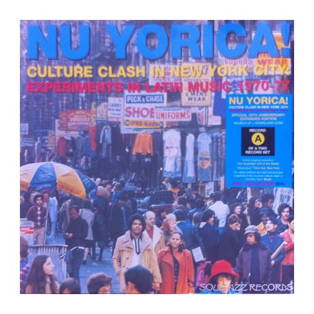 V/A - NU YORICA! (Culture Clash In New York City: Experiments in Latin Music 1970-77) - 2LP