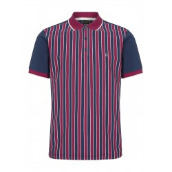 Merc SQUAD Polo Shirt Short Sleeved NAVY