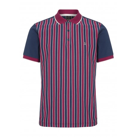 Merc SQUAD Polo Shirt Short Sleeved NAVY