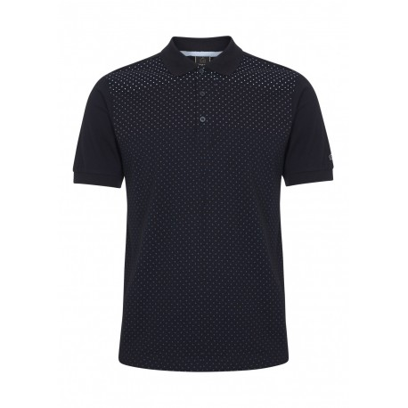 Merc GENERAL Polo Shirt Short Sleeved BLACK