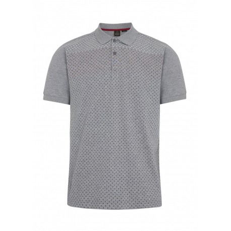 Merc GENERAL Polo Shirt Short Sleeved GREY MARL
