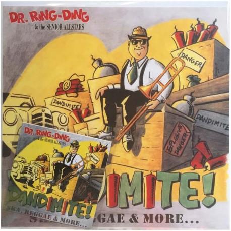 DR. RING DING & THE SENIOR ALLSTARS - Dandimite! - LP+CD