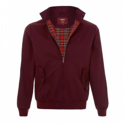 MERC Harrington  Jacket - BURGUNDY
