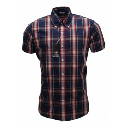 RELCO Short Sleeve Button-Down - NAVY