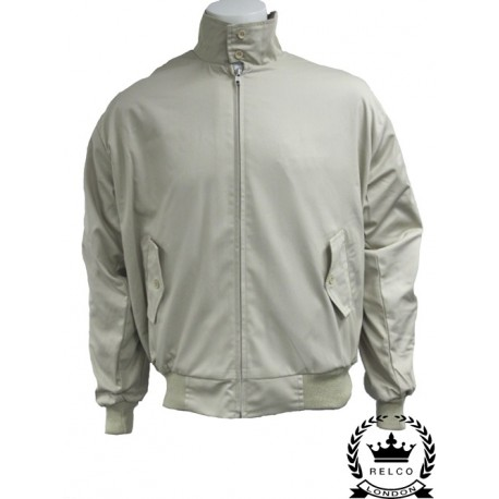 Chaqueta Harrington - BEIGE