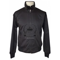 Chaqueta Harrington - NEGRA
