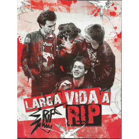 LARGA VIDA A RIP - Libro + CD
