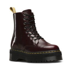 Dr. Martens Vegan Boot  JADON 8 Eye - CHERRY RED