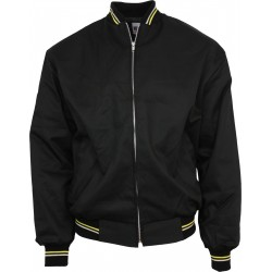 Monkey  Jacket - BLACK With Yellow And White